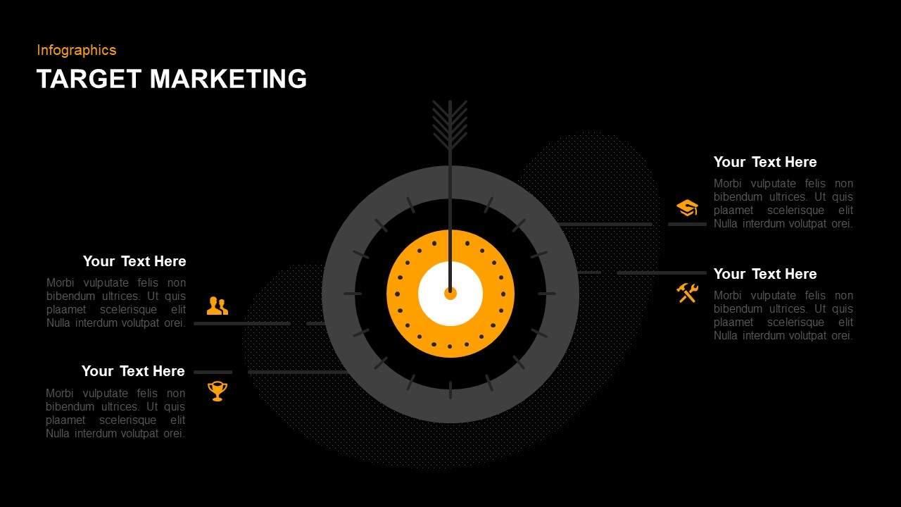 Target market PowerPoint template