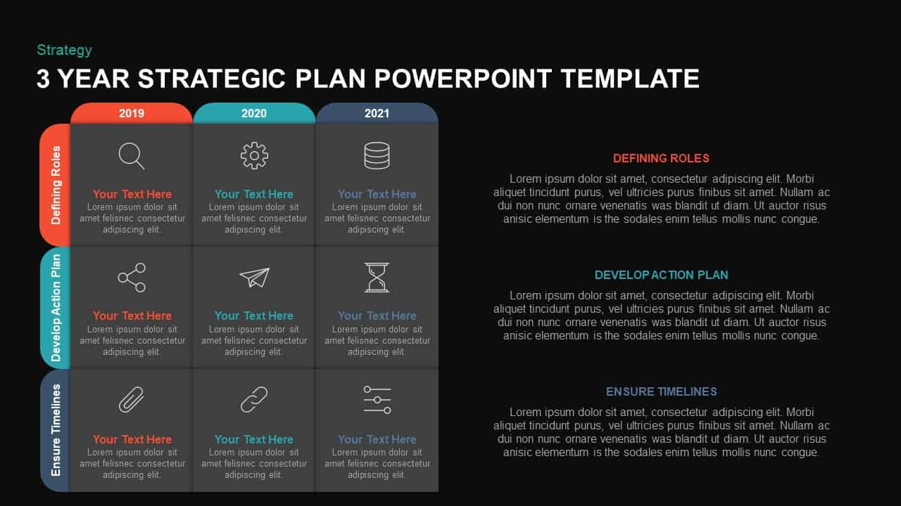 Strategic Plan Template for PowerPoint