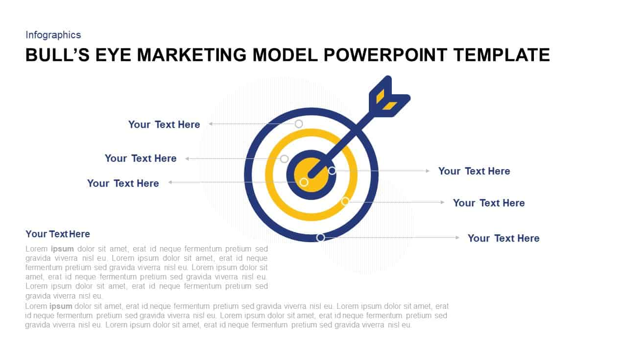 Bull's Eye Marketing Model Template for PowerPoint