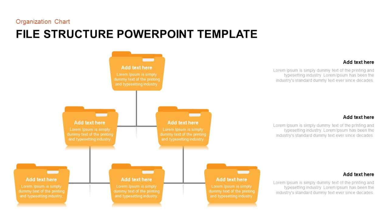 Folder Structure PowerPoint Template