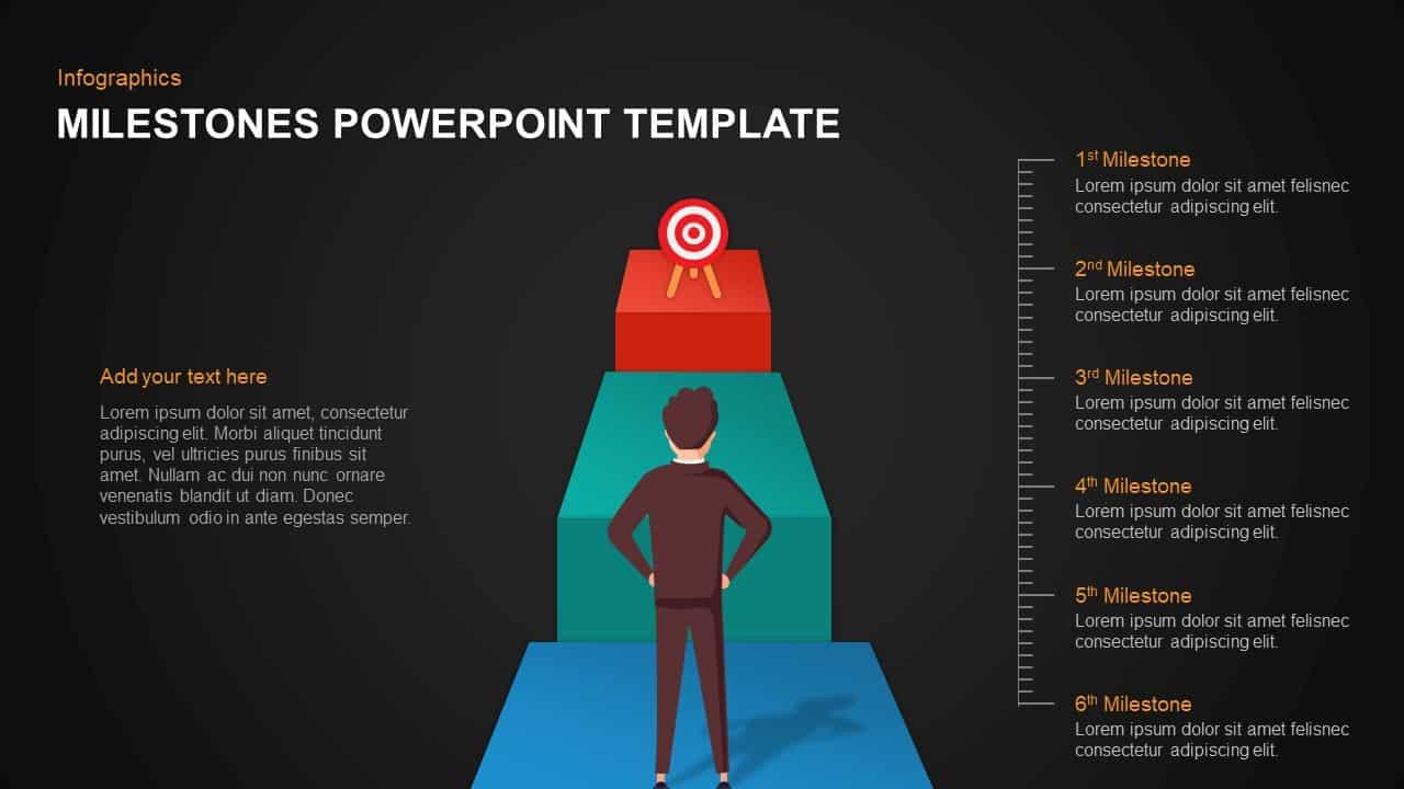 Milestones Template for PowerPoint