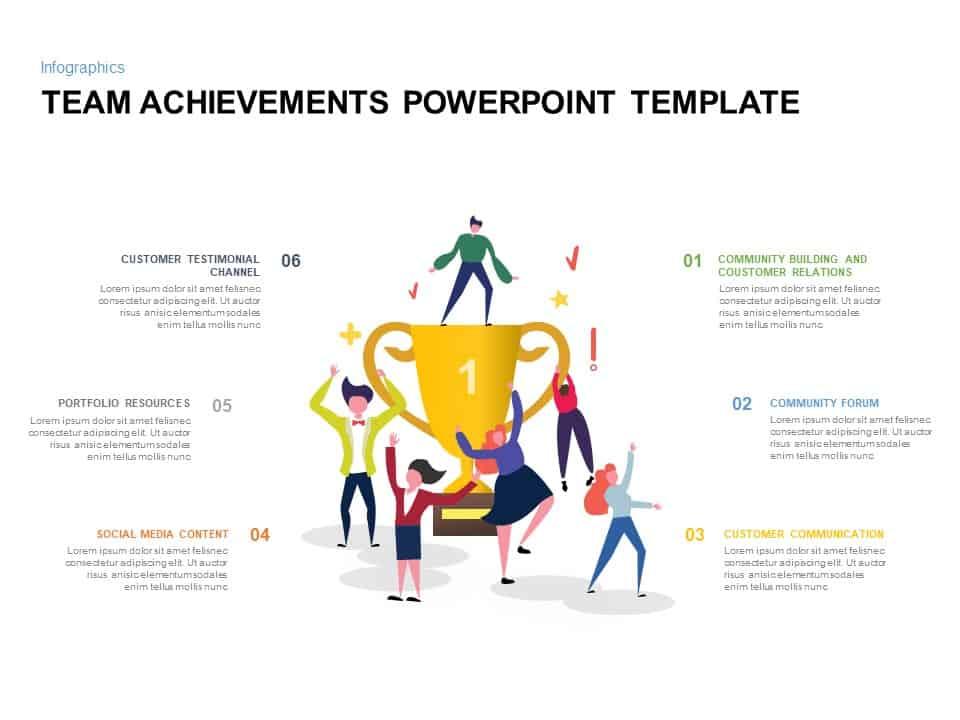 Team Achievement Ppt Template
