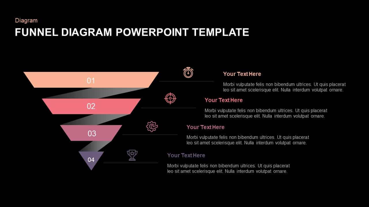 Download Funnel Diagram PowerPoint Template