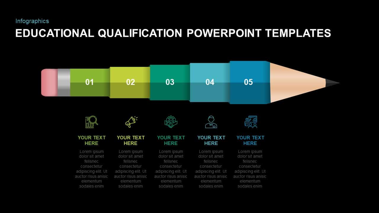 Educational Qualification Ppt Presentation Slide