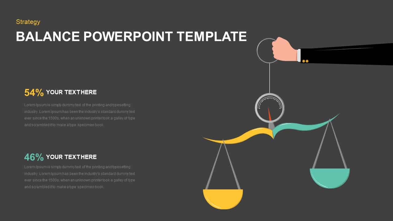 Free Balance PowerPoint Template