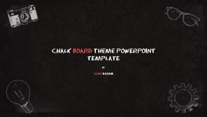 Chalkboard Theme PowerPoint Template