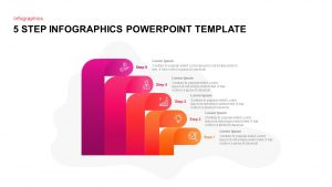 5 Step Infographic PowerPoint Template