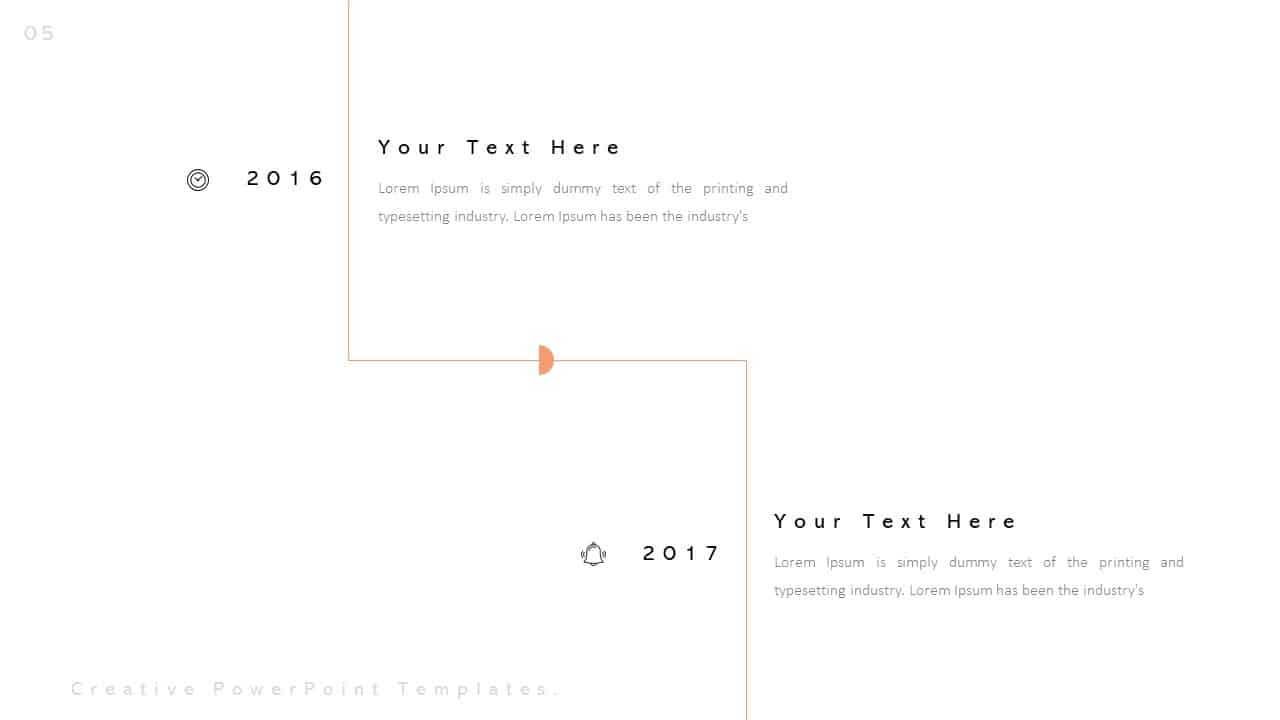 Creative Business Year PowerPoint Templates