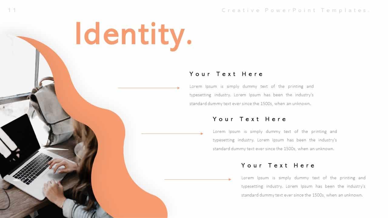 Creative Identity PowerPoint Templates