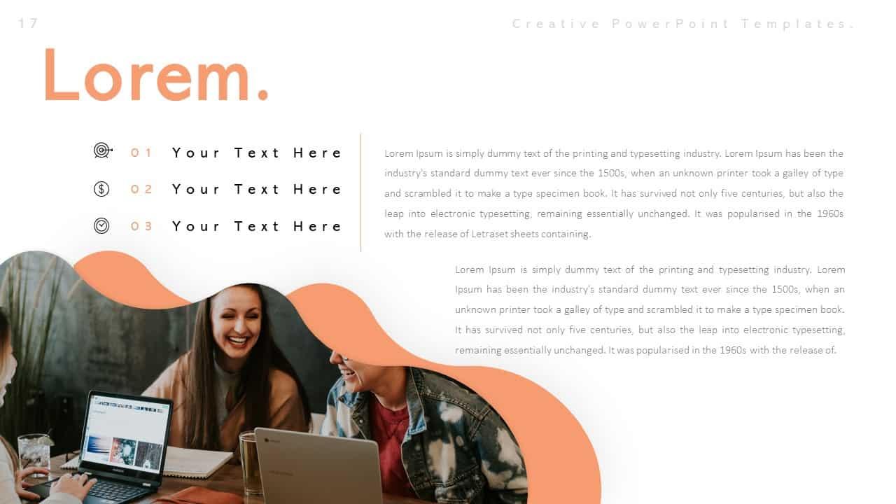 Creative Lorem PowerPoint Templates