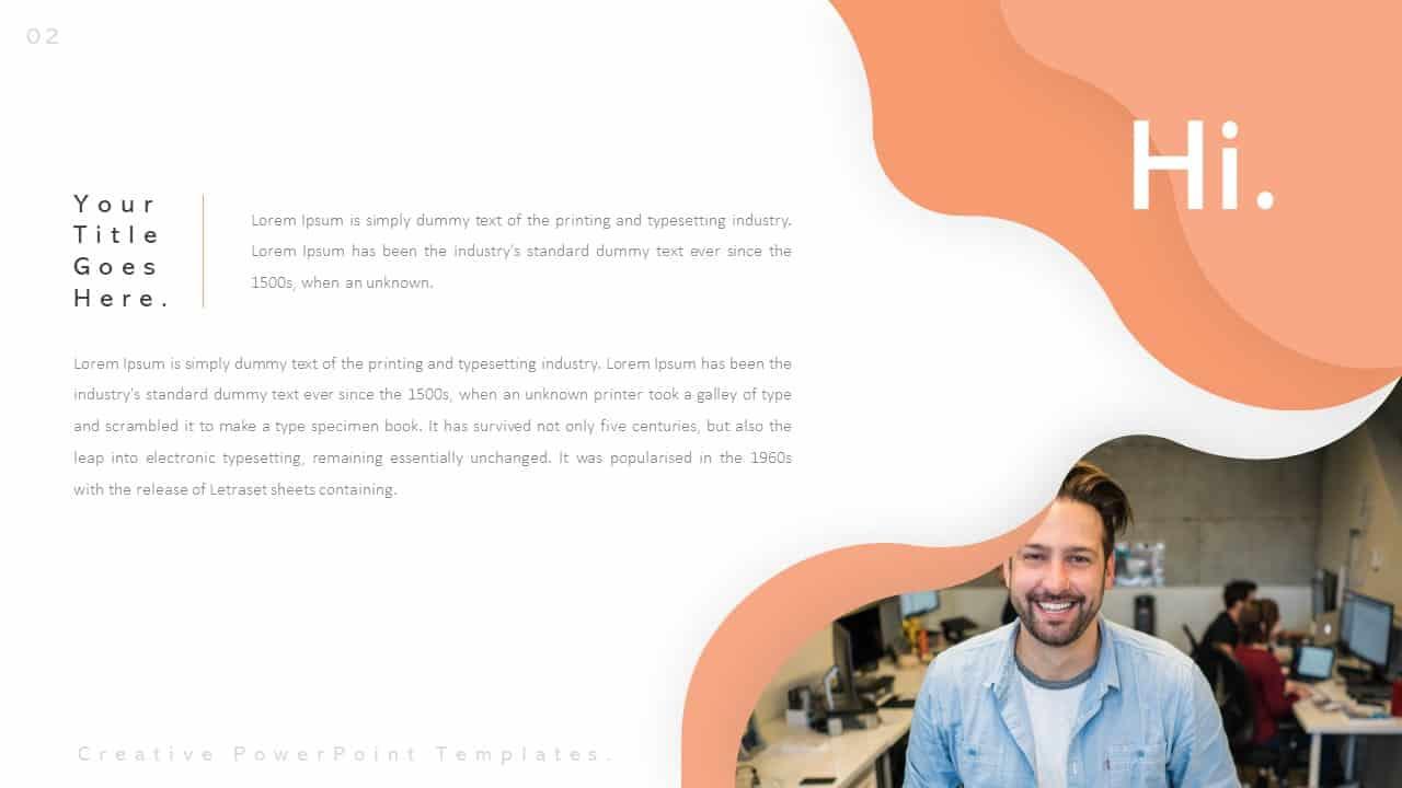 Creative Profile PowerPoint Templates