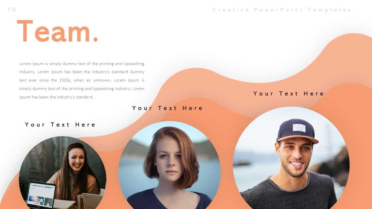 Creative Team PowerPoint Templates
