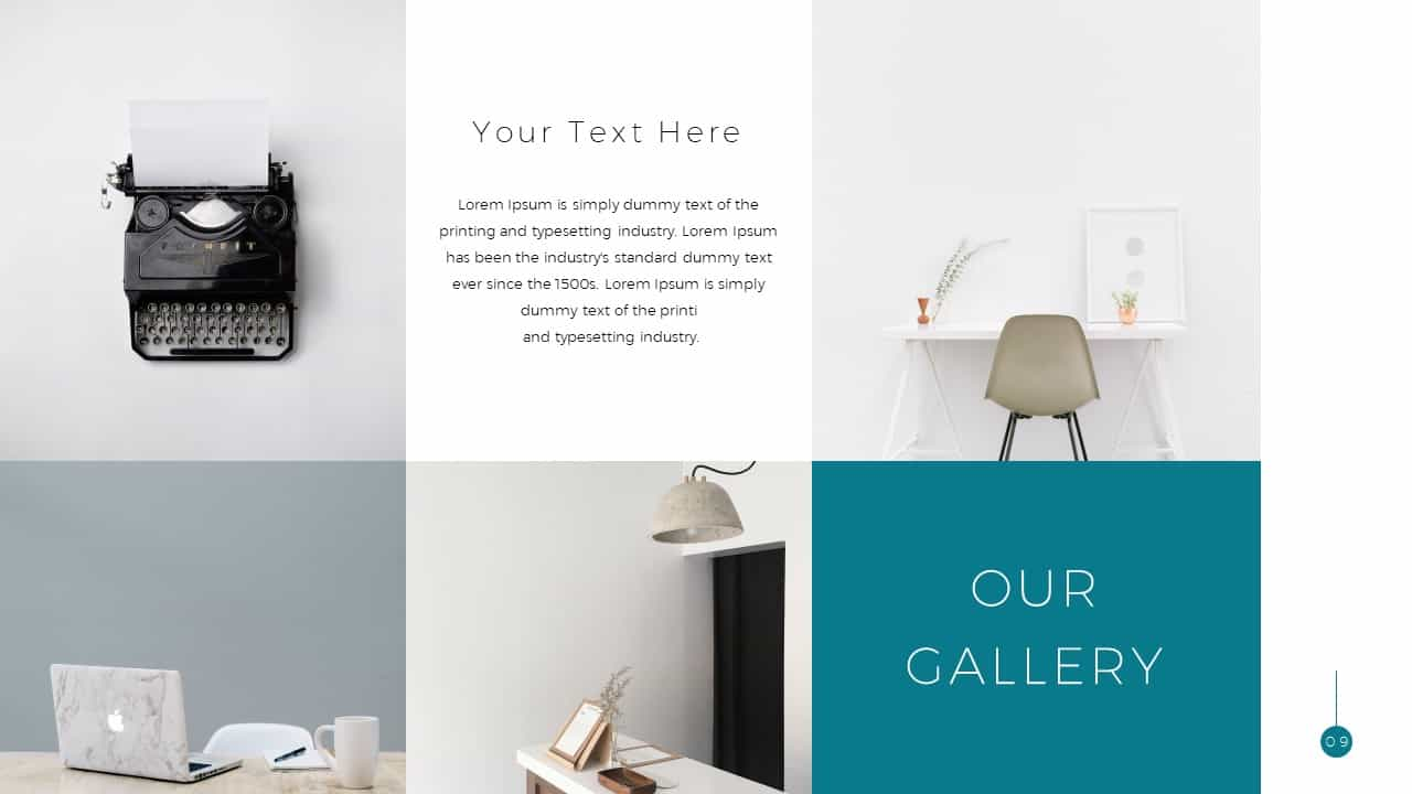 Simple Business Deck Gallery Templates