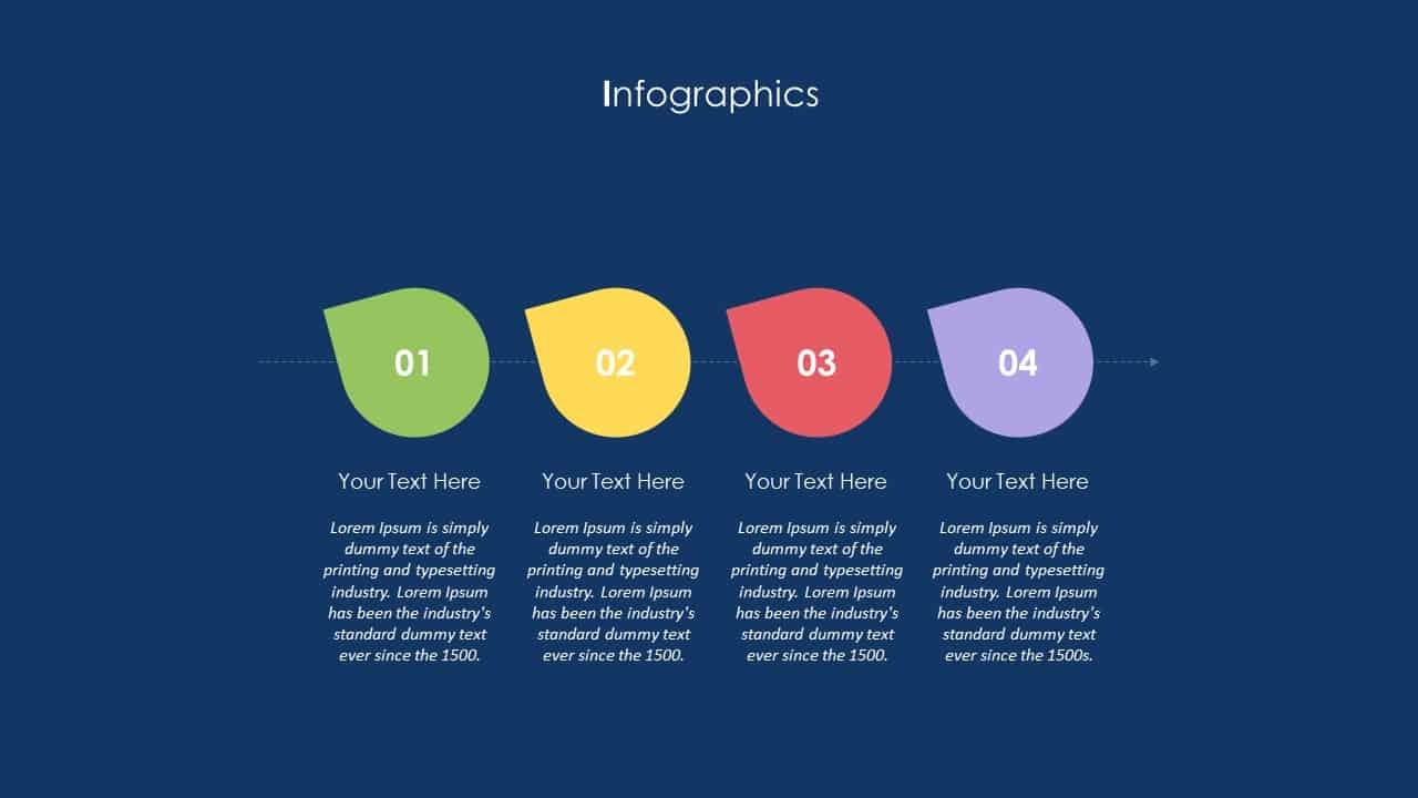 School Communication App Deck Infographic Template
