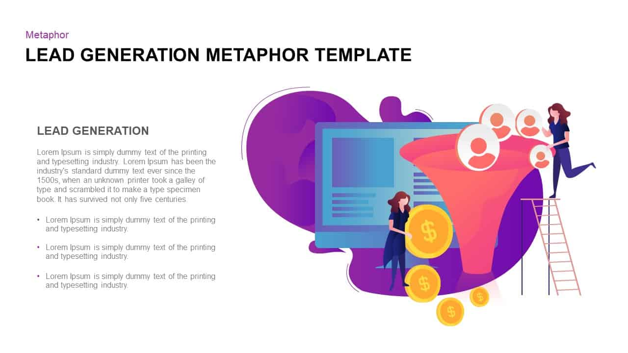 Lead generation template
