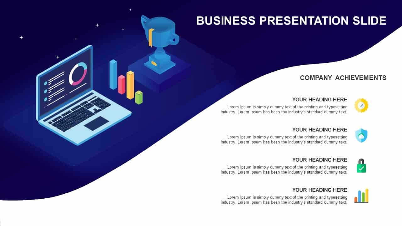 Business Presentation PowerPoint Template