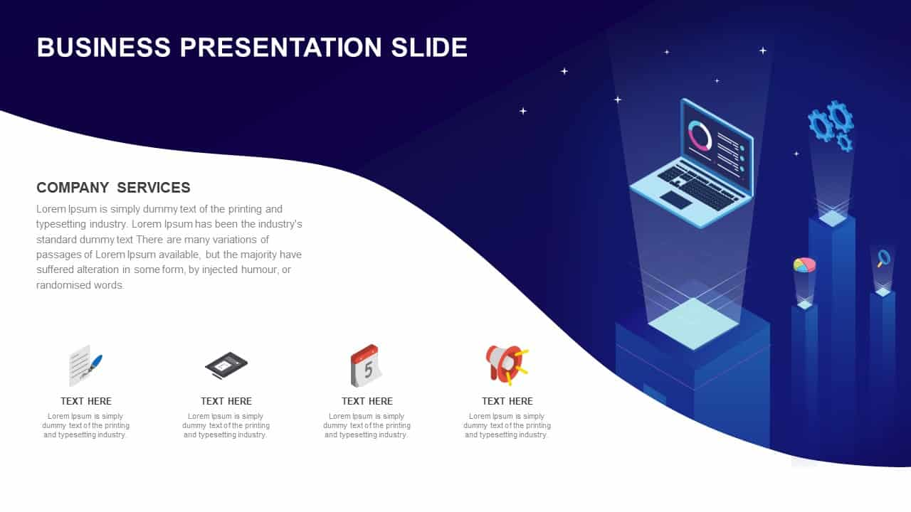 Business Presentation Slide Template