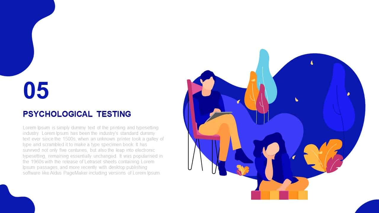 Scholarly Administration Deck Template Psychological Testing