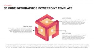3D Cube PowerPoint Template