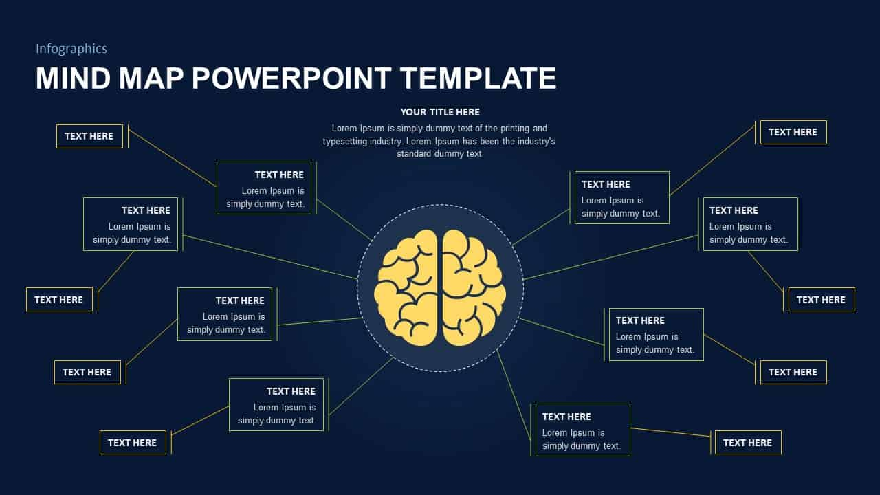 Creative Mind map Template