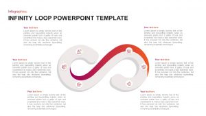 Infinity Loop Diagram for PowerPoint Presentation