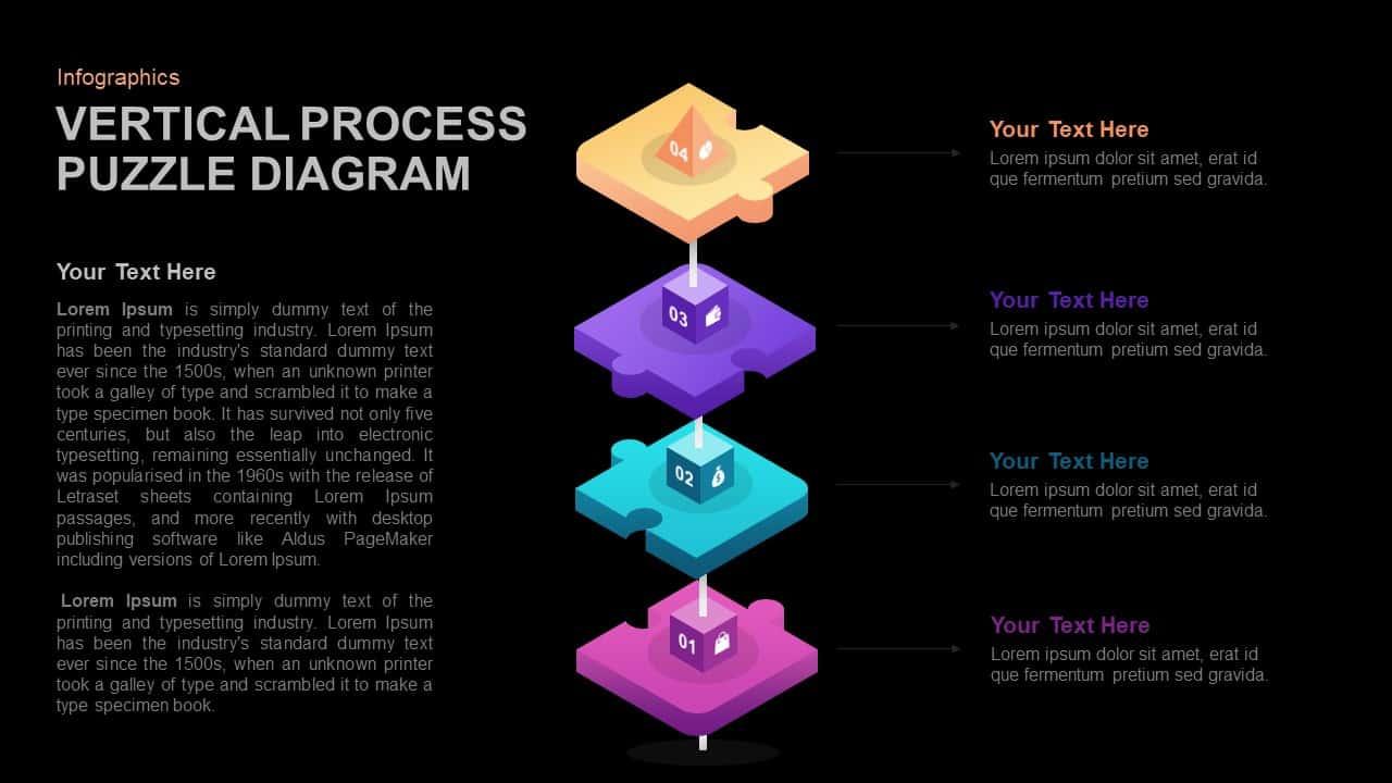 Puzzle Diagram PowerPoint Template