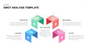 Creative SWOT Analysis Template for Presentation